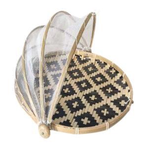 Pattern Basket Black